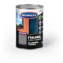 Emalia alkidowa Ftalonal Szary półpołysk 0,9L Nobiles