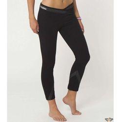 spodnie damskie (legginsy) METAL Mulisha - ZABLOKOWANE Capris - BLK