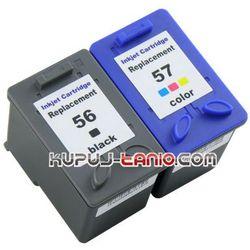 HP 56 + HP 57 (R) tusze do HP PSC 1315, HP PSC 1210, HP PSC 2210, HP PSC 1215, HP PSC 1310, HP Officejet 6110