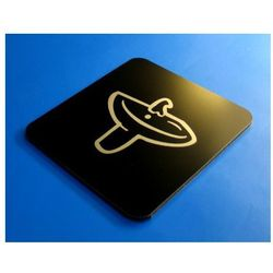 Piktogram Symbol Znak Łazienka-Umywalnia 10 x10 CN