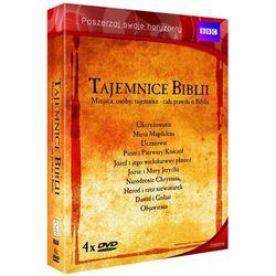 Tajemnice Biblii (4 DVD)
