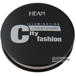 HEAN - City fashion ILLUMINATION - Puder prasowany rozświetlający-3 - MORELOWY