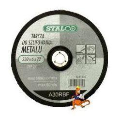 TARCZA DO SZLIFOWANIA METALU 125x6, 0x22MM FIRMA STALCO (S-61125)