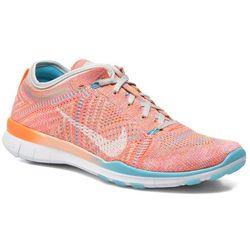 Buty sportowe Nike Wmns Nike Free Tr Flyknit Damskie Pomarańczowe 100 dni na zwrot lub wymianę