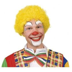 Peruka klaun żółta