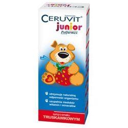 Ceruvit Junior Polfarmex sm.truskawkowy syrop - 120 ml