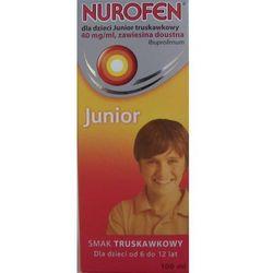 Nurofen Junior zawiesina x 100ml /truskawkowa