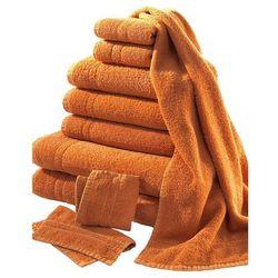 Komplet ręczników (10 części) bonprix terakota
