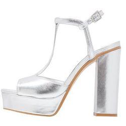Zalando Iconics Sandały na obcasie silver