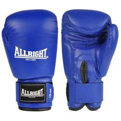 Rękawice bokserskie Allright PVC - niebieskie