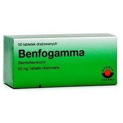 BENFOGAMMA 50mg x 50 tabletek drażowanych