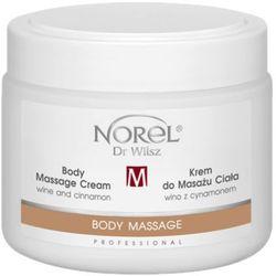 Norel (Dr Wilsz) BODY MASSAGE CREAM WINE AND CINNAMON Krem do masażu ciała wino z cynamonem (PB327)