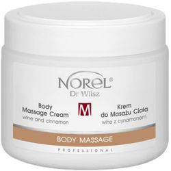 Norel (Dr Wilsz) BODY MASSAGE CREAM WINE AND CINNAMON Krem do masażu ciała wino z cynamonem (PB327)