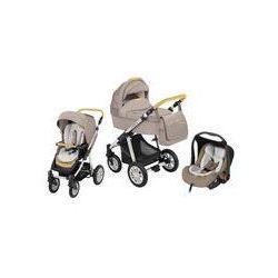 Wózek wielofunkcyjny 3w1 Lupo Dotty + Leo Baby Design (Denim beżowy)
