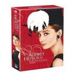 Gwiazdy kina: Audrey Hepburn - Śniadanie u Ttiffanego; Rzymskie wakacje; Sabrina; Zabawna buzia (4 DVD)
