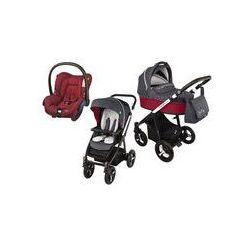 Wózek wielofunkcyjny 3w1 Lupo Husky Baby Design + Citi GRATIS (czerwony 2016)