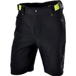 Męskie MTB spodnie rowerowe Silvini ELVO MP809 black-lime