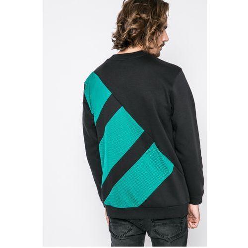 adidas Originals Bluza Eqt Block Crew Bluzy męskie czarne w