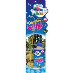 Fru Blu, Zestaw do baniek mydlanych, mini motylek + płyn 0,5 l Darmowa dostawa do sklepów SMYK
