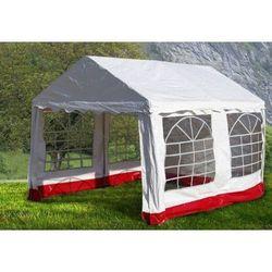 Rovens.pl Pawilon ogrodowy - namiot handlowy 3x4m mocna stal - PE plandeka