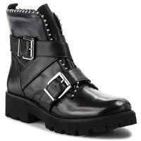 Botki STEVE MADDEN - Hoofy Ankleboot SM11000118-03001-017 Black Leather