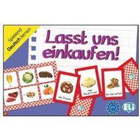 Gra językowa Niemiecki Lasst und einkaufen!. Opr. karton