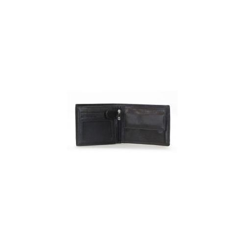 fa5506cda2e18 Genevian Skórzany Czarny Męski portfel 2304 - porównaj zanim kupisz