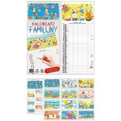2016 Kalendarz ścienny Familijny