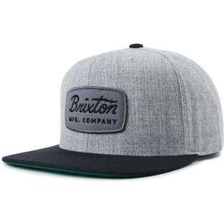 6c3e10858b5b6 czapka z daszkiem BRIXTON - Jolt Snapback Heather Grey/Black (HTGBK)  rozmiar: