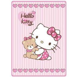 Kocyk akrylowy Hello Kitty 80x110 cm
