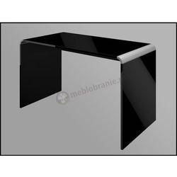 Biurko czarne wysoki połysk Murano 100