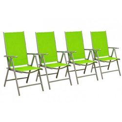 Rovens.pl Krzesła składane zestaw 4 sztuk