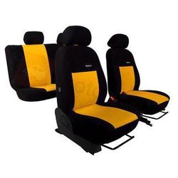 Pokrowce samochodowe ELEGANCE Żółte Peugeot 406 1995-2004 - Żółty