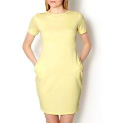 Pastelowa sukienka bombka XL+