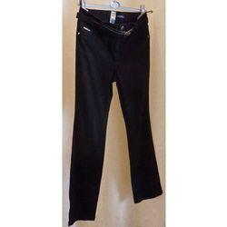 Klasyczne jeansy czarne rozmiar 46
