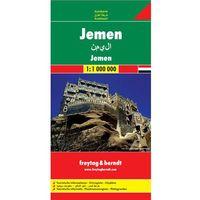 Jemen mapa 1:700 000 Freytag & Berndt (opr. twarda)
