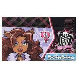 Kredki Bambino 24 kolory Monster High