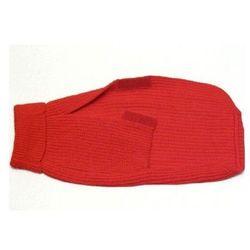 CHABA Golf dla psa dł. 37cm czerwony (rozmiar 3)