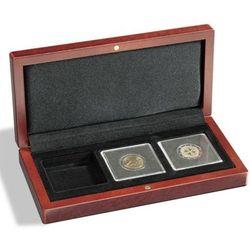 Etui mahoniowe na 3 monety VOLTERRA
