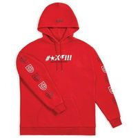 bluza BRIXTON - Shine Hood Red (RED)
