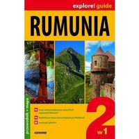 Rumunia 2w1 Przewodnik Z Mapą (opr. miękka)