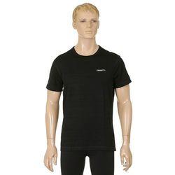 koszulka trykotowa Craft 1901987/Active Light Wool Basic - 9999/Black