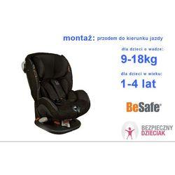 Fotelik iZi Comfort X3, 1-4 lat, 9-18kg, BESAFE - Black - Alcantara -10% (-10%)
