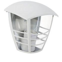 Zewnętrzna LAMPA elewacyjna MARSELLIE 8646 Rabalux metalowa OPRAWA ścienna KINKIET do ogrodu IP44 outdoor biały