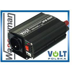 Przetwornica napięcia 12V/230V 500W Volt IPS500 PLUS