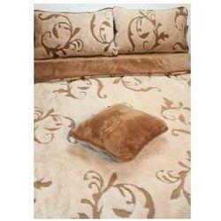 Camel 180x200 45x75 ornament kołdra poduszki wełna