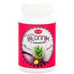 MY LIFE 100 tabletek Naturalny błonnik z ananasem suplement diety