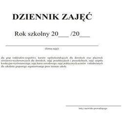 DRUK DZIENNIK ZAJĘĆ POZALEKCYJNYCH MEN-I/6 [2511]