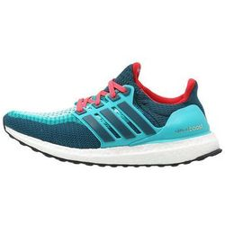 adidas Performance ULTRA BOOST Obuwie do biegania Amortyzacja clear green/mineral/shock red