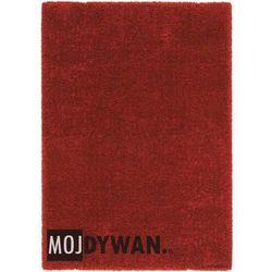 Dywan Luxury Shaggy czerwony chili 200x290 prostokąt
